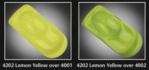 Auto-Air Semi Opaque Lemon Yellow
