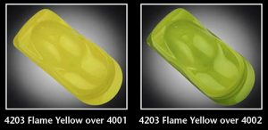 Auto-air Semi Opaque Flame Yellow