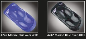 Auto-Air Transparent Marine Blue
