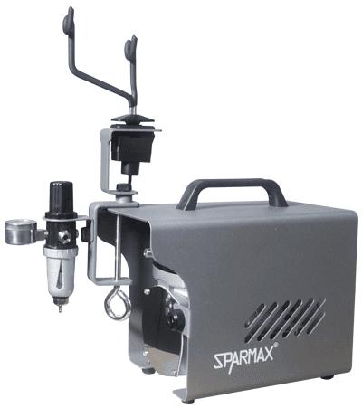 Sparmax Zeta with Smart-Stop Hanger Assembled